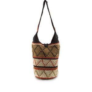 Handbags - ❤️LAST ONE 🦊AZTEC STRAW SHOULDER BAG🦊